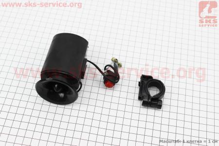 Звонок электронный 6 мелодий, черный SB-205 для велосипедов