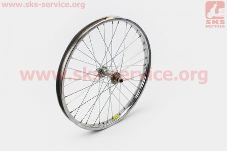 """Колесо 20"""" переднее, втулка 14Gx36H в сборе для велосипеда"""
