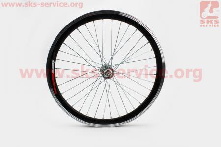 """Колесо 20"""" переднее МТВ """"капля"""" обод алюминиевый, втулка 14Gх36Н в сборе, крепл. гайка """"JITONG"""" для велосипеда"""