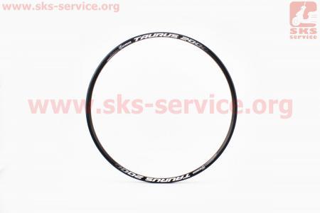 """Обод 29"""" (622 Х 19) двойной алюминиевый 14Gх32Н, пистонированный, под диск. тормоз, черный TAURUS 2000 для велосипеда"""