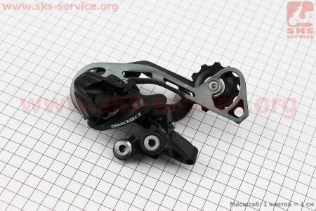 Перекидка цепи задняя 10зв., крепл. болт, DEORE RD-M610 для велосипеда