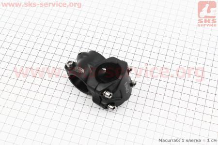 Вынос руля МТВ 28,6x31,8х35мм, алюминиевый, черный AS-M05 для велосипеда