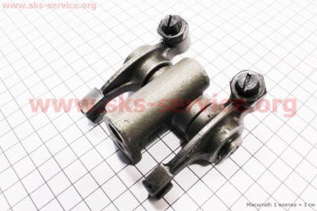 Коромысло клапана с креплением в сборе R195NM З/ч на двигатель дизельный R190N(NM)/R195N(NM)