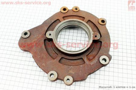 Крышка блока двигателя левая 5отв. R190N/195NM Тип №1 З/ч на двигатель дизельный R190N(NM)/R195N(NM)