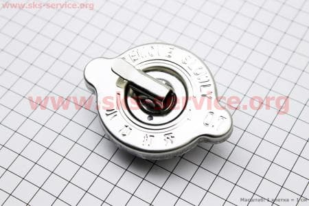 Крышка радиатора под горловину до Ø57,70мм, Øклапана 38мм З/ч на двигатель дизельный R190N(NM)/R195N(NM)