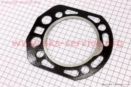 Прокладка головки цилиндра R190N З/ч на двигатель дизельный R190N(NM)/R195N(NM)