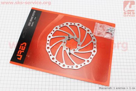 Тормозной диск 160мм, под 6 болтов, SC16 для велосипеда