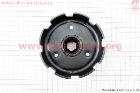 Корзина сцепления под шлиц Ø20мм Тип №2 для мотоблока