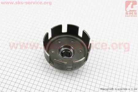 Корзина сцепления под шлиц Ø25мм Тип №4 для мотоблока