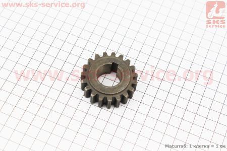 Шестерня пускового вала Z=19, Ø22мм для мотоблока