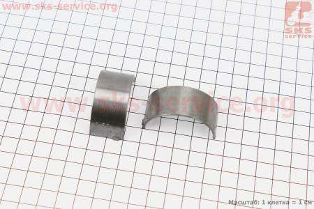 Вкладыш шатуна 186F к-кт 2шт +0,50 для дизельного двигателя  F178/ F186 - 6/9 л.с.