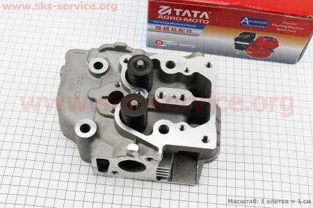 Головка 186F ZUBR в сборе для дизельного двигателя  F178/ F186 - 6/9 л.с.