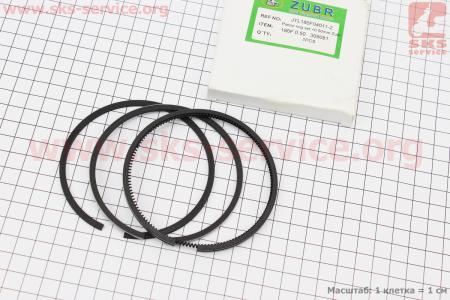 Кольца поршневые 186F 86мм +0,50 для дизельного двигателя  F178/ F186 - 6/9 л.с.