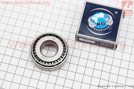 Подшипник 30204 (20x47x15.25), ИНДИЯ для мотоблока с двигателем 178F-186F