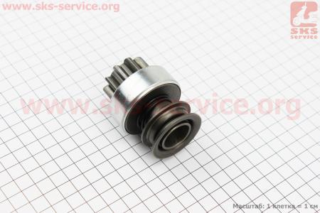 Бендикс электростартера Z=10, Lзуба=18мм R190N/195NM на двигатель дизельный R190N(NM)/R195N(NM)
