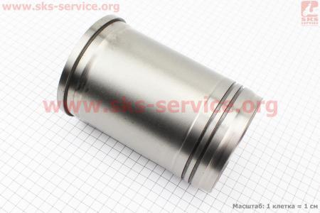 Гильза цилиндра R195NM (H=175mm, Øвенца=116,90mm, Øверх.пояс=111mm, Øниж.пояс=109mm) на двигатель дизельный R190N(NM)/R195N(NM)