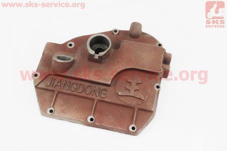 Крышка блока двигателя правая (со стороны заводного рычага), 8отв., чугунная R190N/195NM Тип №3 на двигатель дизельный R190N(NM)/R195N(NM)