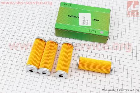 Фильтр топливный - элемент 85мм R175A/180N/190N, к-кт 4шт на двигатель дизельный R190N(NM)/R195N(NM)