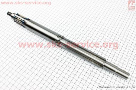 Вал КПП первичный (с валом отбора мощ.) 390мм для мототрактора