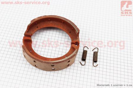 Тормозные колодки к-кт 2шт Тип №2 для мототрактора
