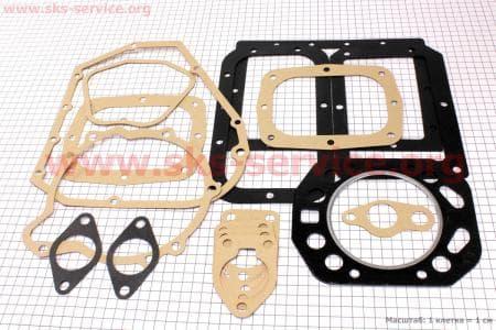 Прокладки двигателя к-кт (16шт) R195NM З/ч на двигатель дизельный R190N(NM)/R195N(NM)