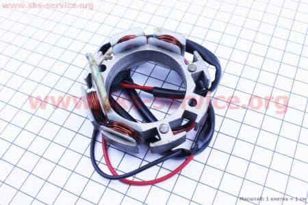 Статор вентилятора З/ч на двигатель дизельный R190N(NM)/R195N(NM)