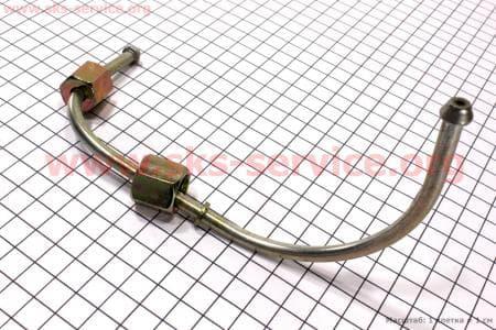 Трубка топливная метал (насос - форсунка) R190N Тип №1 З/ч на двигатель дизельный R190N(NM)/R195N(NM)