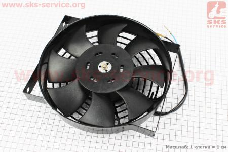 Вентилятор радиатора Xingtai 120/160 к минитракторам Xingtai 120-224