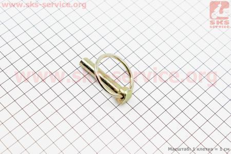 Палец прицепной серьги D=9,2мм Xingtai 120 к минитракторам Xingtai 120-224