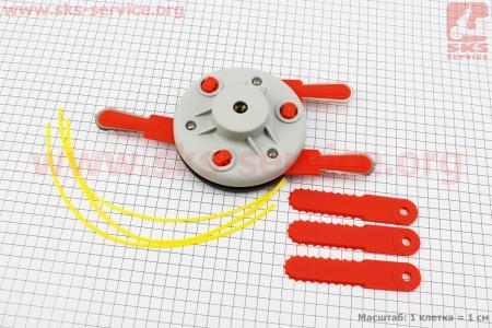 Комбинированная система (леска+ножи) для мотокос