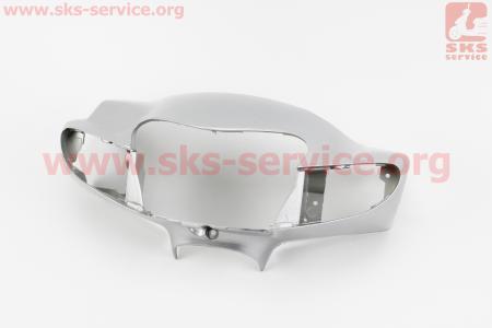 "Suzuki LETS-III пластик - руля передний ""голова"", СЕРЫЙ"