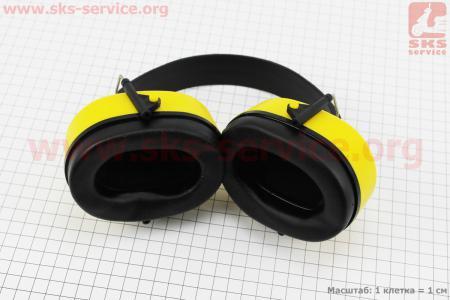 Наушники защитные E-2008A (снижение уровня шума (SNR) в среднем на 27дБ)