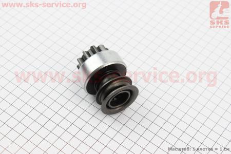 Бендикс электростартера Z=10, Lзуба=14мм R190N/195NM для мотоблока