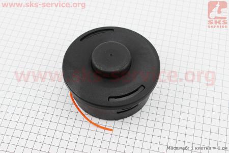 Леска в сборе (шпулька), под вал М10х1,00, Stihl FS-55/80/83/85/90/100/110/120/130/250, AutoCut 25-2 ОРИГИНАЛ (40027102108) для мотокосы