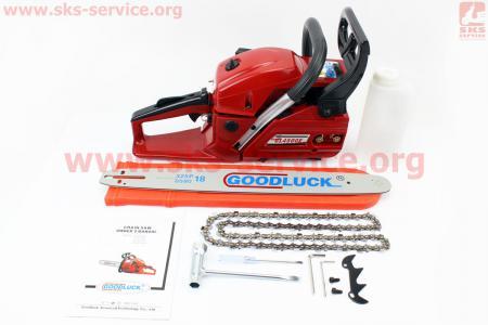 """Бензопила GoodLuck GL4500Е 45cc (2кВт. шина 18"""") ОРИГИНАЛ, с подкачкой"""
