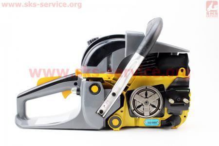"""Бензопила REZER 58cc (3,8кВт, шина 18""""), с подкачкой, плавный пуск"""