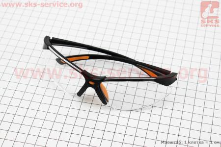 Очки защитные F-3054A, материал линзы - поликарбонат PC
