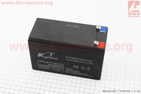 Аккумулятор 6-DFM-8 - 12V8Ah (L151*W65*H97mm) для ИБП, игрушек и др., 2020