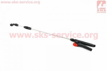 Трубка (удочка) с ручкой для опрыскивателя+1шт распылитель для мотоопрыскивателя