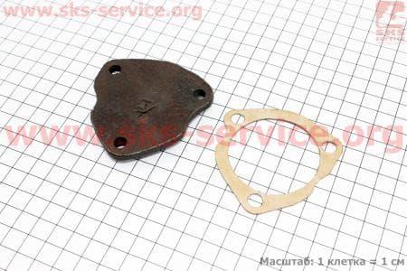 КПП - Крышка + прокладка (нижняя) З/ч на мотоблок с двигателем R175N(NM)/R195N(NM)