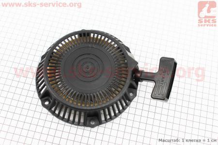 Стартер ручной в сборе 152F/154F Тип №2 для двигателя 168F