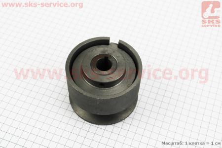 Шкив-муфта сцепления вариаторного типа (D=98мм под коленвал Ø20мм, паз под ремень SPA или SPB) для двигателя 168F/170F