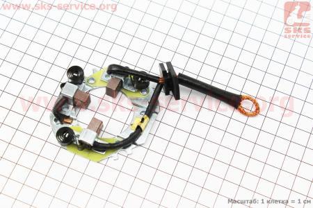 Щетки стартера 3шт для дизельного двигателя  F178/ F186 - 6/9 л.с.