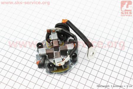 Щетки стартера 4шт для дизельного двигателя  F178/ F186 - 6/9 л.с.