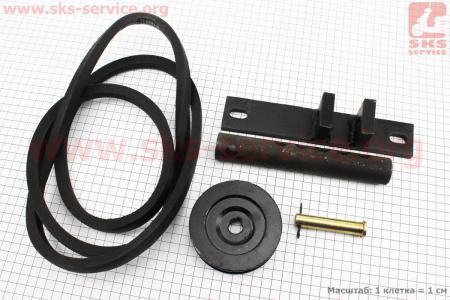 Адаптер роторной косилки к мотоблоку к-кт 5шт на НАВЕСНОЕ оборудование к мотоблокам с двигателями R175/R180/R190/R195/ZS1100
