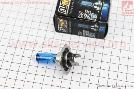 Лампа фары галоген H7 12V 55W PX26D Super White