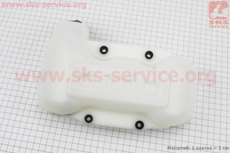 Бак топливный 4 отв. под крепления Тип №4 для мотокос