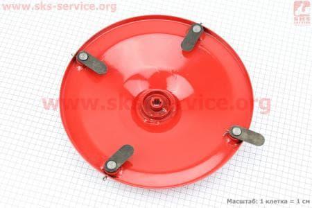 Роторная косилка - Тарелка (диск) в сборе с ножами З/ч на НАВЕСНОЕ оборудование к мотоблокам с двигателем R175N(NM)/R195N(NM)