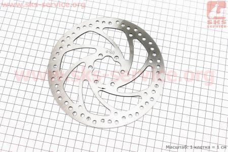 Тормозной диск 160мм, под 6 болтов, BD-14 для велосипеда