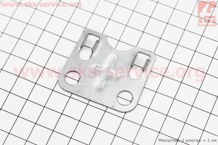 Пластина направляющая штанг 168F/170F Тип №2 для мотоблока